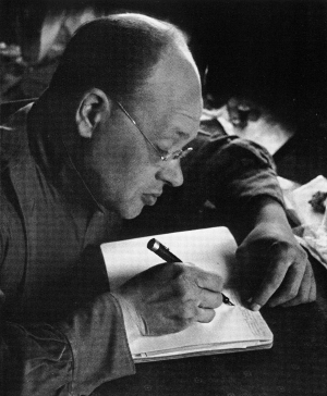 Isaac Babel, 1933. Photo: Georgii Petrusov